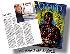 Howard University Magazine  - Fall 2000